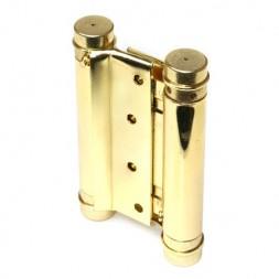 Петля пружинная двойная Amig-3037-100 (латунь)