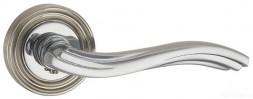 Ручка раздельная PUNTO VENTO ML SN/CP-3 матовый никель/хром
