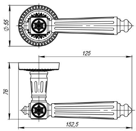 Matador CL4-SILVER-925 Серебро 925