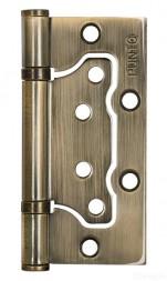 Петля универсальная без врезки PUNTO 200-2B 100x2,5 AB (бронза)