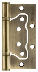 Петля универсальная без врезки 500-2BB/BL 100x2,5 AB (бронза) БЛИСТЕР Fuaro