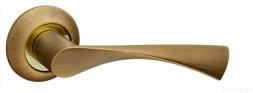 Ручка раздельная FUARO CLASSIC AR AB/GP-7 бронза/золото