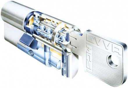 EVVA MCS 87мм (41+46) ключ/ключ
