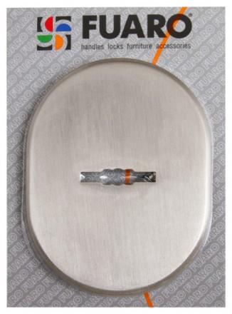 Декоративная накладка ESC 475 AB зеленая бронза сувальдный замок