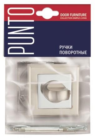 Ручка поворотная PUNTO BK6 QL BL-24 черный