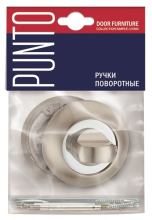 Ручка поворотная PUNTO BK6 TL WH-19 белый