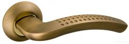 Ручка раздельная FUARO LOUNGE AR AB/GP-7 бронза/золото