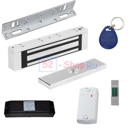 Электромагнитный замок для пластиковой двери (комплект)
