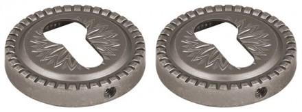 Накладка CYLINDER ET/CL-AS-9 Античное серебро 2 шт.