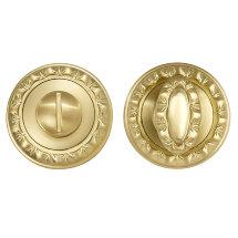Ручка поворотная PUNTO BK6 MT SG/GP-4 матовое золото/золото