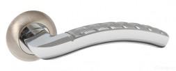 Ручка раздельная PUNTO ATLAS TL SN/CP-3 матовый никель/хром
