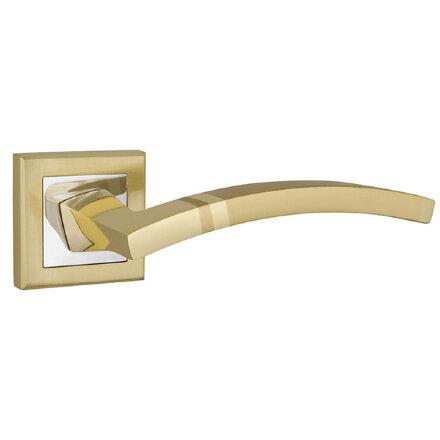 Ручка раздельная PUNTO NAVY QL SG/CP-4 матовое золото/хром