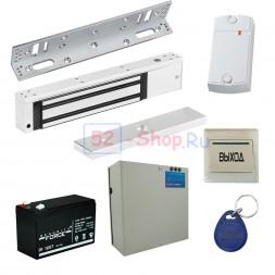 Электромагнитный замок для металлической двери (комплект)
