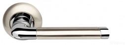 Ручка раздельная Stella LD28-1SN/CP-3 матовый никель/хром