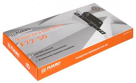 Защелка врезная Fuaro F72-50 GR графит