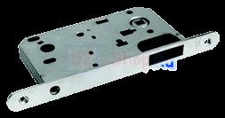 Защелка сантехническая магнитная Morelli MM 2090 SN Белый никель