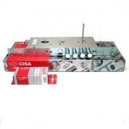 Замок врезной Cisa (Чиза) двухсистемный NEW CAMBIO FACILE 57.986.48 (тех. упаковка), ключ 44 мм