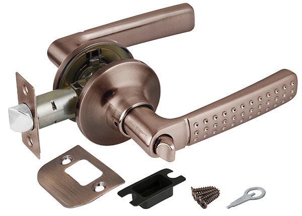 Ручка защелка Punto (Пунто) 6026 AC-B (фик.) медь