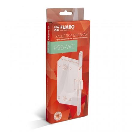 Защелка врезная Fuaro PLASTIC P96WC-50 WH-19 белый