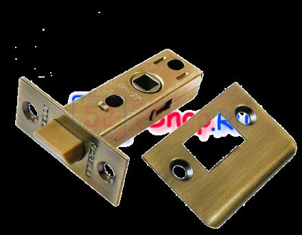 Защелка межкомнатная Morelli L6-45 AB Античная бронза