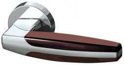 Ручка раздельная Armadillo ARC URB2 CP/CP/Brown-16 Хром/хром/коричневый