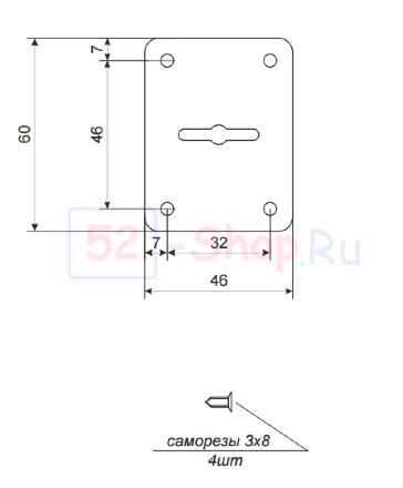 Накладка декоративная Apecs DP-S-01-G