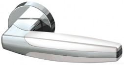 Ручка раздельная Armadillo ARC URB2 CP/CP/White-14 Хром/хром/белый