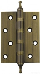 Петля универсальная 500-A4 100x75x3 WAB Матовая бронза Box Armadillo