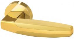 Ручка раздельная Armadillo ARC URB2 GOLD-24/GOLD-24/SGOLD-24 Золото24/Золото24/Матовое золото 24
