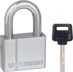 "Замок Fuaro (Фуаро) навесной PL-2550 (50 мм) 4 ""фин."" кл. БЛИСТЕР"