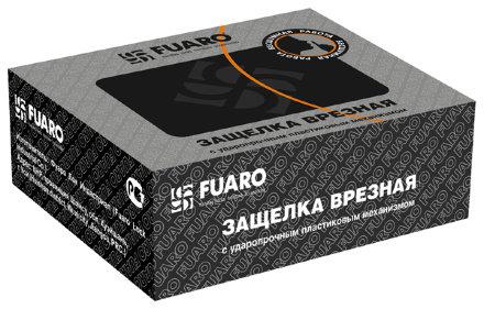 Защелка врезная Fuaro PLASTIC P22-45-25 CP хром