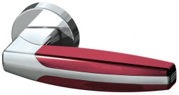 Ручка раздельная Armadillo ARC URB2 СР/СР/Bordo-15 Хром/Хром/Бордовый