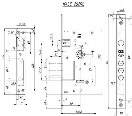 KALE 252/RL никель 5 кл.