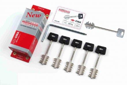 """Комплект ключей CISA 06.520.51.1 """"New Cambio"""""""