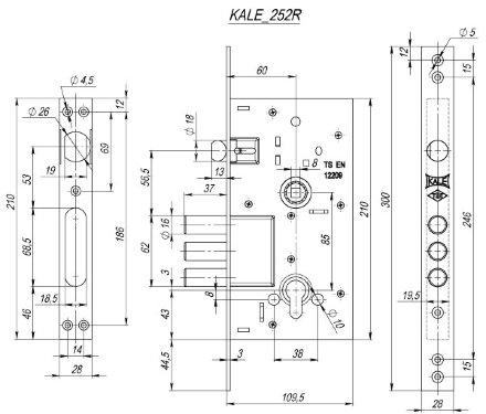 KALE 252/R w/b (никель)