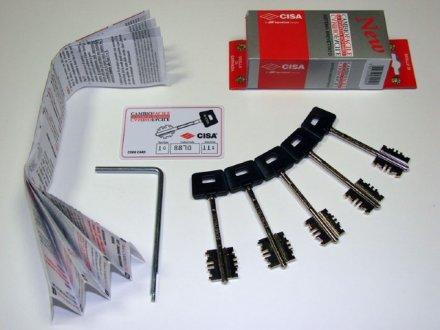 """Комплект ключей CISA 06.520.61.1 """"New Cambio"""""""