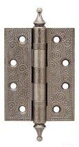 Петля универсальная Castillo CL 500-A4 102x76x3,5 AS Античное серебро Armadillo
