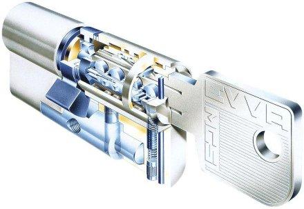EVVA MCS 107мм (41+66) ключ/вертушка