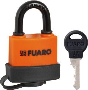 "Замок Fuaro (Фуаро) навесной PL-3650 (50 мм) 3 ""англ.""кл. БЛИСТЕР"
