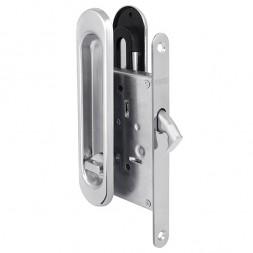 Защелка Punto (Пунто) с ручками для раздвижных дверей Soft LINE SL-011 CP (хром)