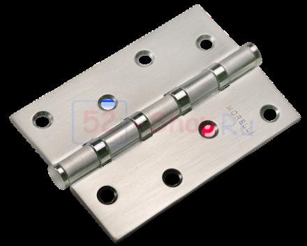 Петля Morelli стальная универсальная MS 100X70X2.5-4BB SN Белый никель