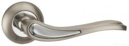 Ручка раздельная PUNTO SALSA TL SN/CP-3 матовый никель/хром