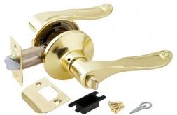Ручка Punto (Пунто) защелка 6030 PB-B (фик.) золото