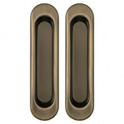 Ручки Punto (Пунто) для раздвижных дверей Soft LINE SL-010 AB (бронза)