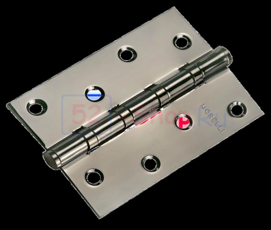 Петля Morelli стальная универсальная MS 100X70X2.5-4BB BN Черный никель