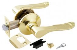Ручка Punto (Пунто) защелка 6030 PB-P (без фик.) золото