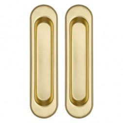 Ручки Punto (Пунто) для раздвижных дверей Soft LINE SL-010 SG (мат. золото)