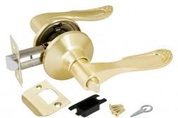Ручка Punto (Пунто) защелка 6030 SB-B (фик.) мат. золото