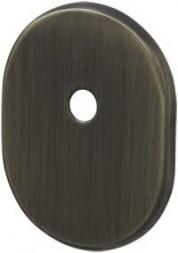 Декоративная накладка под шток ESC 474 AB зеленая бронза