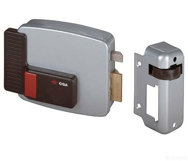 Cisa 11.630.60.1 (дверь прав., открывается внутрь) замок накладной электромеханический